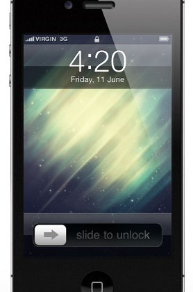 Wallpaper Galaxy para iPhone 4